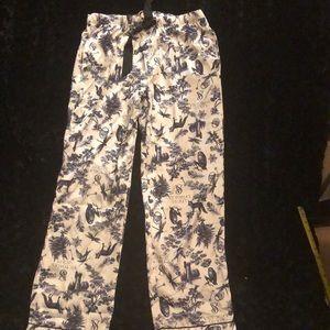 Victoria's secret satin PJ pants size small MWOT